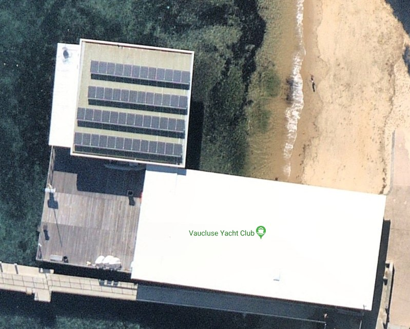 Solar Installation to Vaucluse Yacht Club Sydney